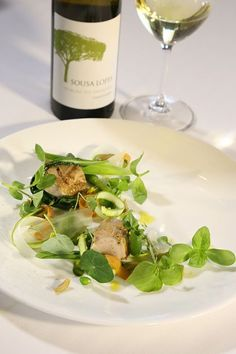 roasted saddle of rabbit wines of portugal = August Recipe