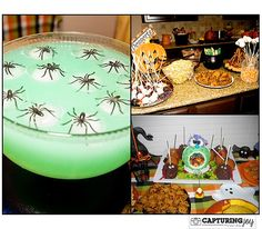 Great collection of Halloween Theme Recipes perfect for throwing a party | KristenDuke.com