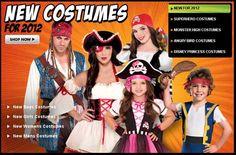 Party City Halloween Costumes 2012 #Halloween #Costumes