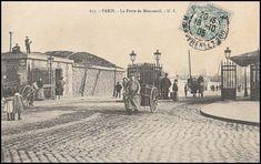 Porte de Montreuil dans les années 1905/1910