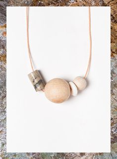 Terrestre 01 necklace by Depeapa
