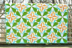 Stardust quilt from Vintage Quilt Revival beats, vintage quilts, traditional quilts, quilt design, vintage quilt revival, star quilts, awesom color, quilt blocks, beauty