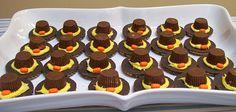 Edible Pilgrim Hats!