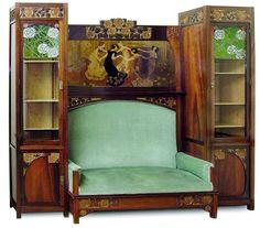everything art nouveau on pinterest art nouveau art nouveau design and alphonse mucha. Black Bedroom Furniture Sets. Home Design Ideas