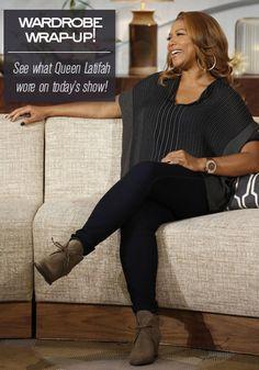 Peep my look from today's #QLShow -- replicate it yourself! // Queen Latifah Wardrobe Wrap-up 11.08.13