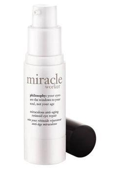 eye repair, eye cream, skin care, philosophi miracl, antiag eye, philosophy, miracl worker, beauti, eyes