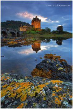 Eliean Donan Castle  Scotland #scottish #castle #placestovisit