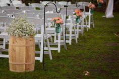Country Wedding Aisle