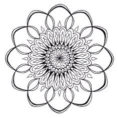 free mandala coloring pages....