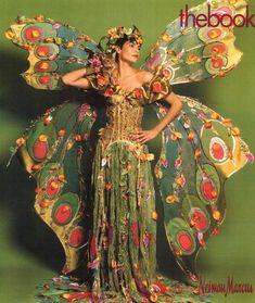 Janet Bloor 2003 Butterfly Costume
