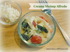 Creamy Shrimp Alfredo -It's Easy with Knorr Pasta Sides....Dinner can be on the table in 30 minutes or less!