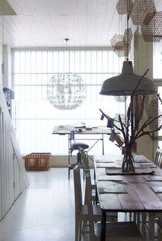interior, white lights