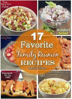 The Shady Porch: 17 Favorite Family Reunion Recipes famili reunion, favorit famili, shadi porch, reunion recip, family reunions