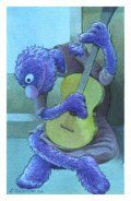 The Old Guitarist Grover - Picasso Parody