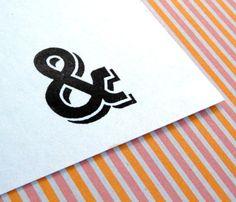 Ampersand Rubber Stamp $14.45