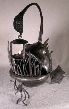 Angler Fish Candle Holder!