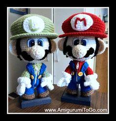 Amigurumi Super Mario Bros - FREE Crochet Pattern / Tutorial