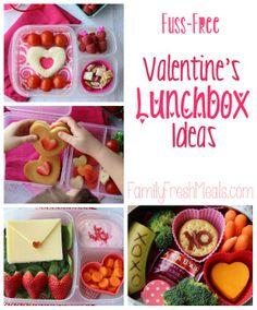 Fuss Free Valentine Lunchbox Ideas - Family Fresh Meals -