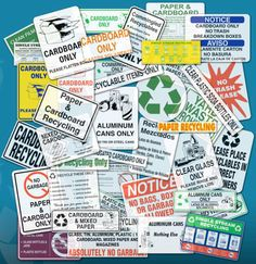 idea, recycling, recycl label, recycl sign