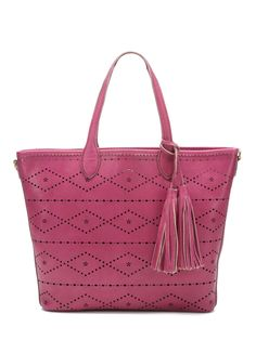 Aurora  Laser Cut Tote by Isabella Fiore at Gilt