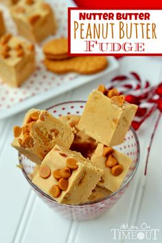 This Nutter Butter Peanut Butter Fudge is perfect for peanut butter lovers!  Ultra smooth peanut butter fudge filled with Nutter Butter Cook...