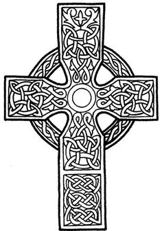 celtic cross coloring sheets- for jim