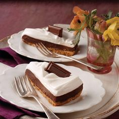 S'more Pie, an indulgent recipe with all the pleasing flavors of a traditional s'more.