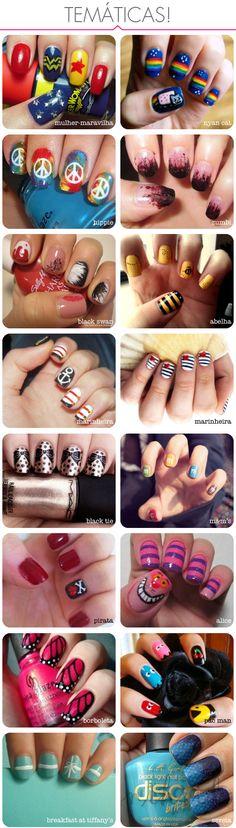 Miscellaneous Manicures #manicure #pedicure #fingernail #finger #nail #polish #lacquer #paint