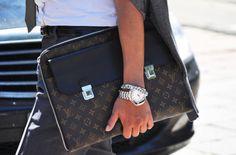 Louis Vuitton portfolio bag