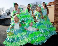 Blue Green Gypsy Wedding