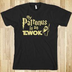 My Patronus is an Ewok
