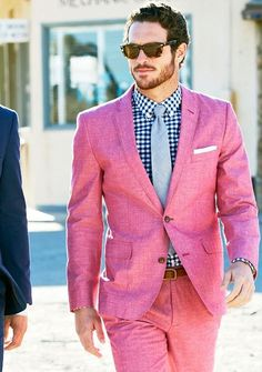 pinky suit up