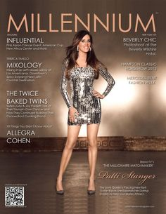 October 2013|Number 33 Patti Stanger, 'The Millionaire Matchmaker' The odds of finding true love are better than those for winning the lottery with Patti Stanger, star of Bravo TV's hit Realty TV show 'The Millionaire Matchmaker'. She's placing new bets and sure to come up big with the launch of new fashion and jewelry lines.