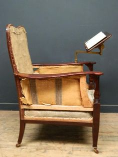Edwardian Library or reading chair., Antique Chairs & Armchairs, Drew Pritchard