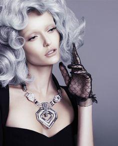 annabella grey hair fashion6 Going Gray: Annabella Barber Poses for FASHIONTREND Australia Spread