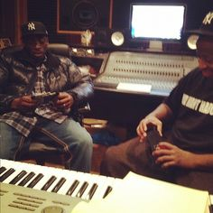 Two legends... Premo and Pete Rock