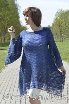 Вязание в стиле бохо туника