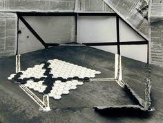"Zeke Berman, ""Still Life with Necker Cube"" (1979)   photograph   gelatin silver print    Source: http://www.sfmoma.org/explore/collection/artwork/7380#ixzz1jCBkHndh   San Francisco Museum of Modern Art"
