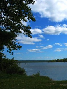 Clam Lake Michigan.  Nice.