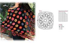 Crochet Poncho - Chart