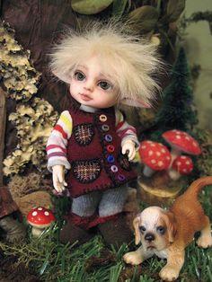 Sleeping Elf, Thistledown.  | Flickr - Photo Sharing!
