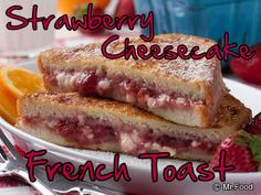 You'll feel like you woke up in a charming country inn when you taste this stuffed French toast - the perfect way to relax during the holidays. Plus, it's so creamy smooth, it's like eating a warm dessert cheesecake!
