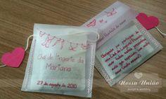 Lingerie Tea invite/gift