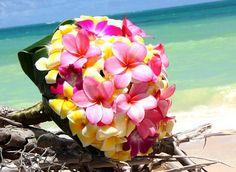 Tropical Wedding Bouquet! - #wedding #tropical #flower #bouquet