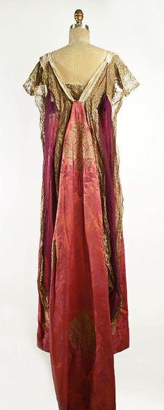 Evening dress by Callot Soeurs, 1909-10 France,...