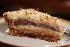 Seven Layer Bar Pie. All the deliciousness of the bar in pie form!