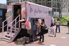 Mobile advertising rules!  Le Fashion Truck www.lefashiontruck.com
