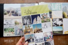 simple as that: Recording Memories one Photo Collage at a Time-Project LIFE idea...include a monthly review of instagrams with this temmplate and include hashtag descriptions.