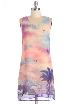 Tropical Tranquility Dress, #ModCloth