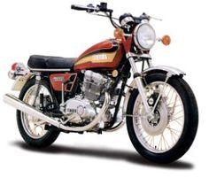 Yamaha TX500 Classic Motorcycle